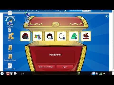 3 codigos reutilizles de Club Penguin de ropa y puffles