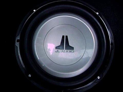 """JL Audio 10"""" 10W1v2 Subwoofer Punani Poundin - YouTube"""