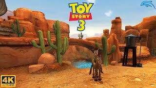 Toy Story 3 The Video Game - Wii Gameplay 4k 2160p (DOLPHIN)