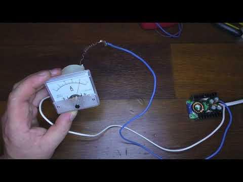 Как подключить амперметр к зарядному устройству для аккумуляторов
