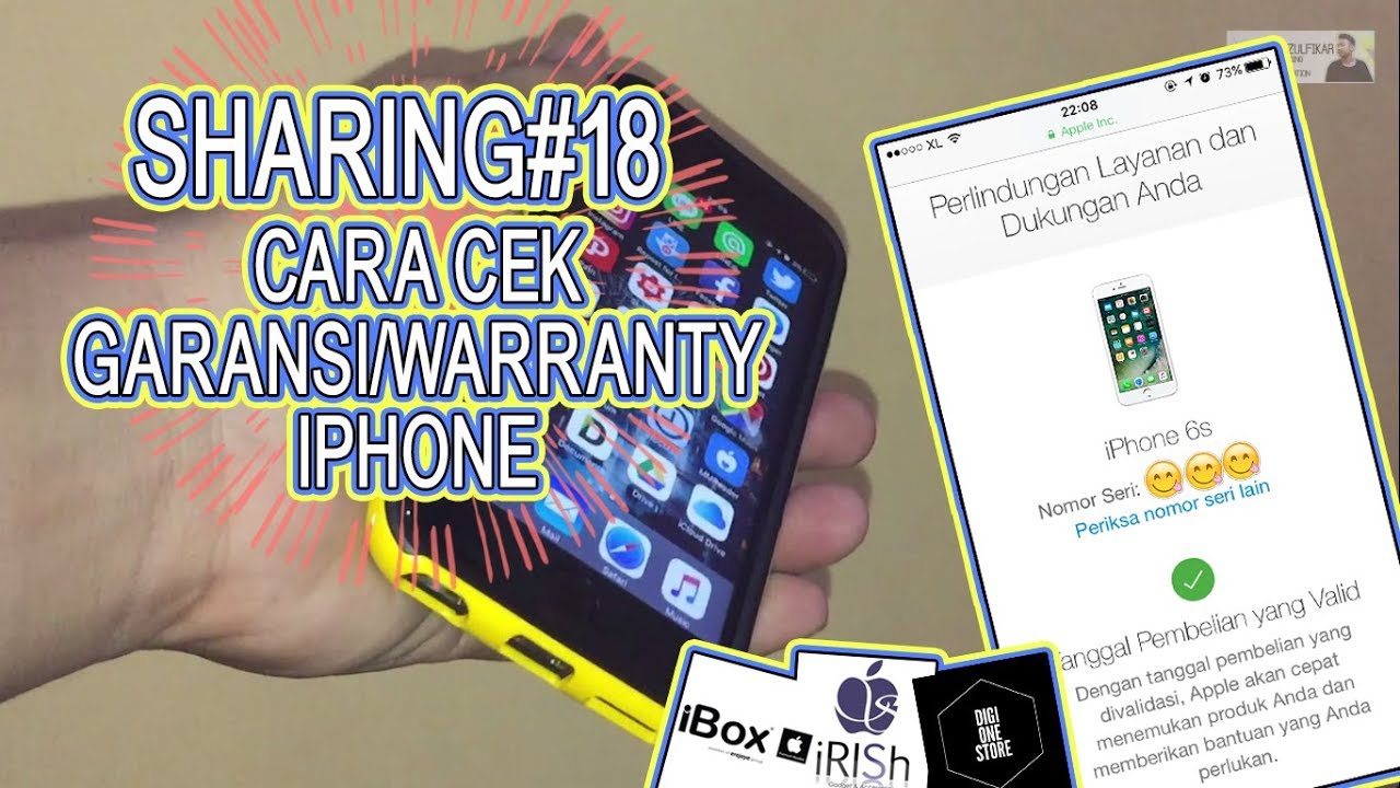 "SHARING#1 ""Cara Cek Garansi/Warranty iPhone"""