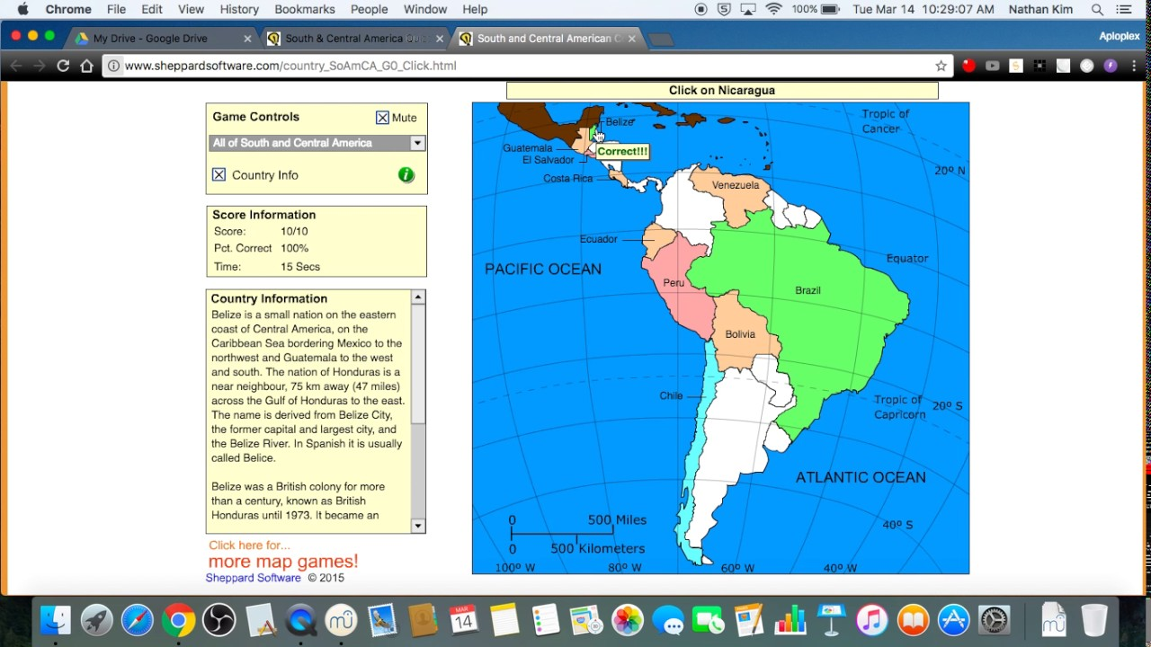 Sheppard Software South And Central America Sec YouTube - Sheppard software us map