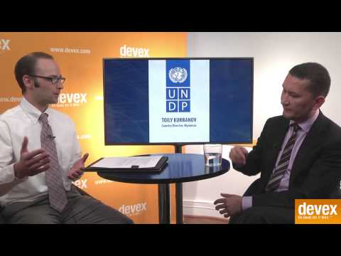 Devex Interviews Toily Kurbanov, UNDP Myanmar Country Director