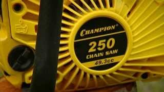 видео Бензопила Champion 240-16 - отзывы покупателей