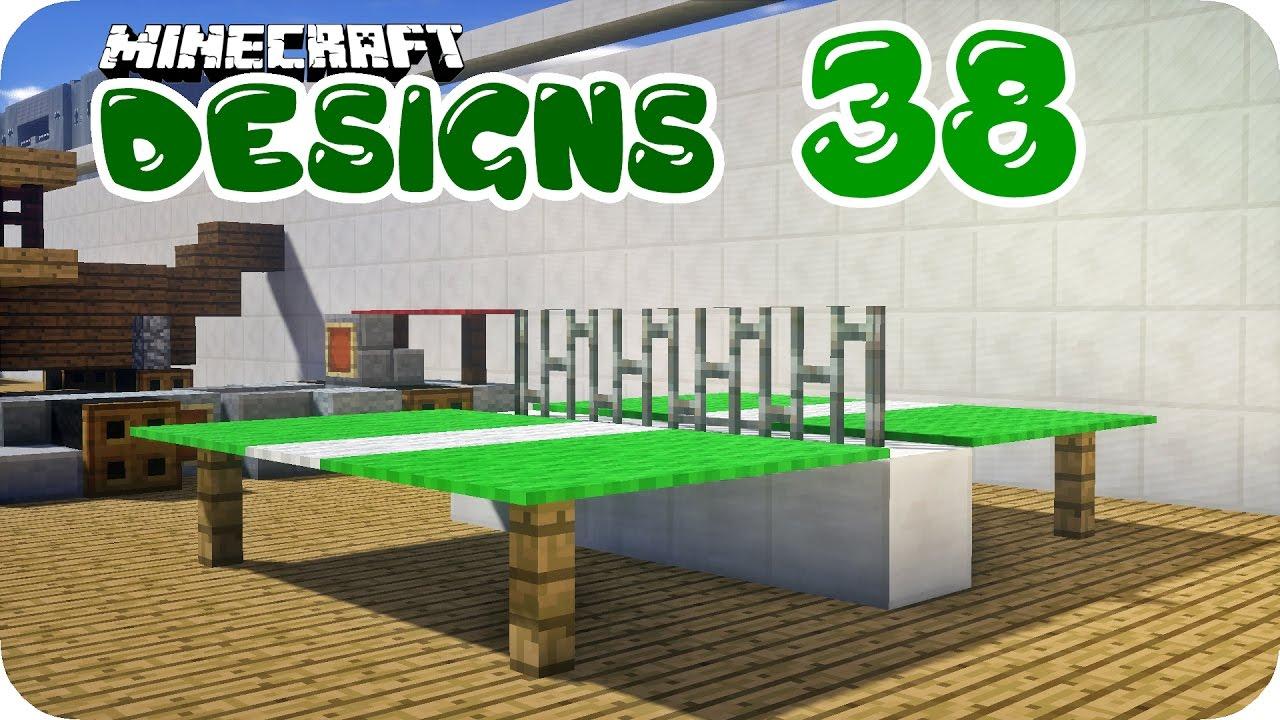 Statue Tischtennis Platte Und Mehr Minecraft Designs 38 Youtube