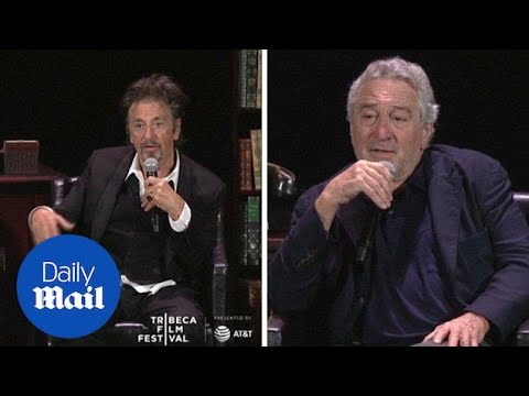 Al Pacino & Robert DeNiro on their roles in Godfather I & II - Daily Mail