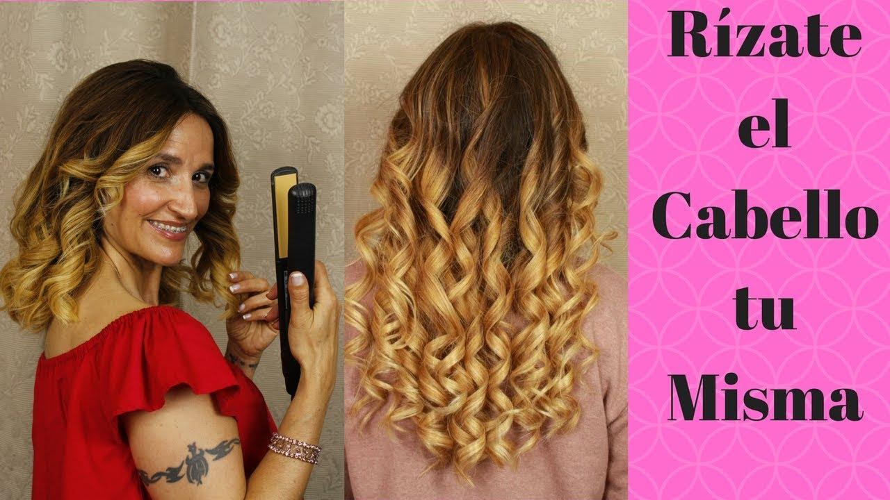 Como Rizar El Pelo Con Planchas Tutorial Para Ondular Tu Cabello How To Curl Your Hair