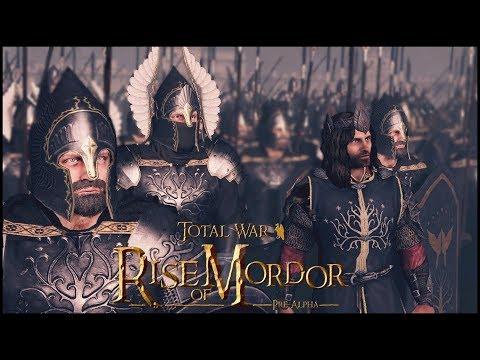 Gondor and Isengard at War! Total War Rise of Mordor Mod 'Trailer'