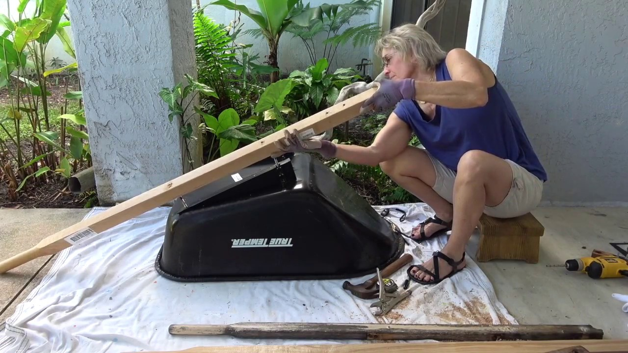 how to fix a wheelbarrow