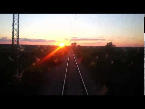 Train Driver's view: railroad in Serbia from Ostruznica to Surcin - SERBIAN RAILWAYS