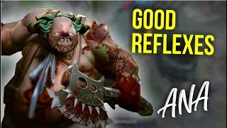 Good Reflexes - Ana Pudge Amazing Gameplay | Dota 2