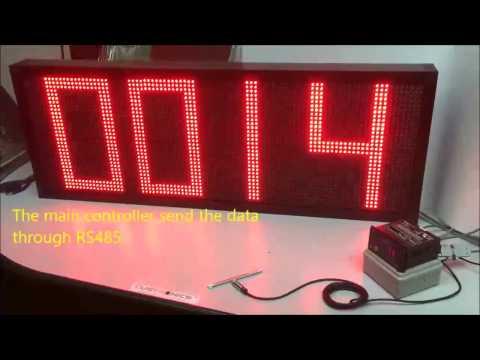 4 Digit decoder Display [RS232 LED Display]