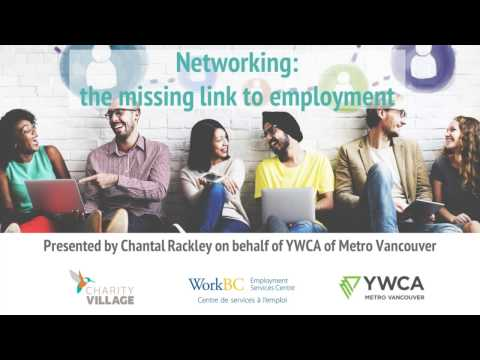 Networking: The Missing Link to Employment