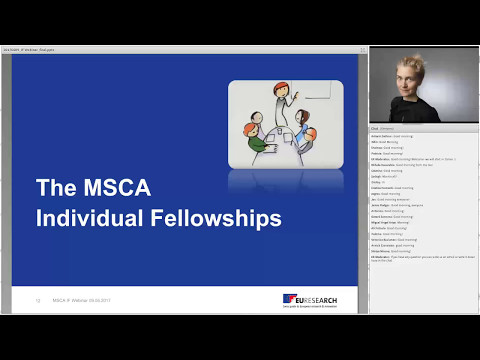 Euresearch Webinar Horizon 2020 - Individual Fellowships of the Marie Skłodowska-Curie Actions