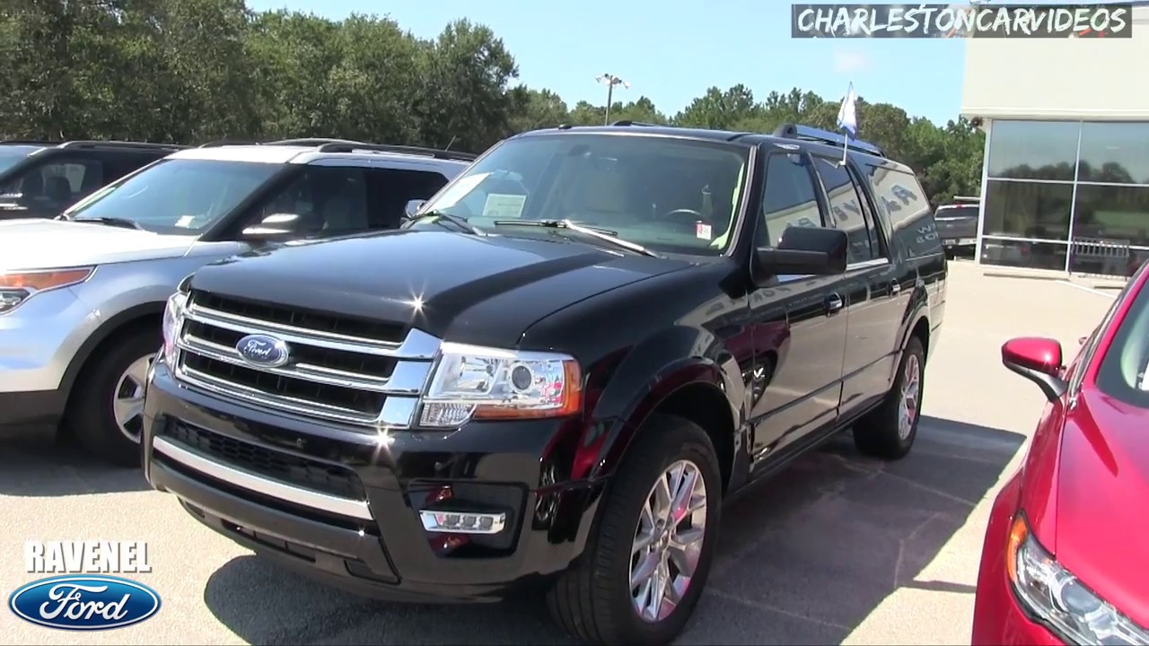 2017 ford expedition el limited walkaround review for sale at ravenel ford 8 16 17 youtube. Black Bedroom Furniture Sets. Home Design Ideas