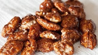 Receta de nueces garapiñadas / Candied walnuts recipe