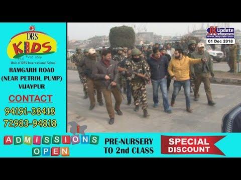 Jammu Kashmir News Round Up 01 Dec 2018