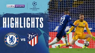 Chelsea 2-0 Atletico Madrid   Champions League 20/21 Match Highlights