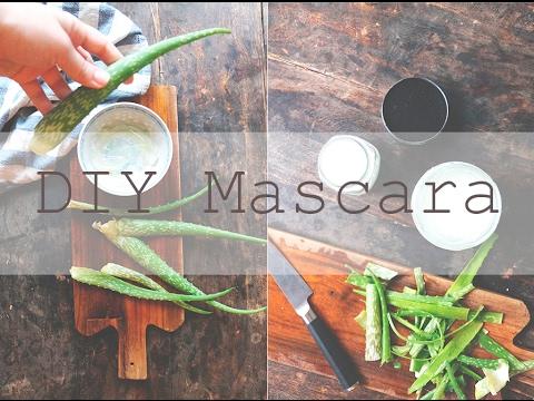 DIY MASCARA // Zero Waste and All Natural