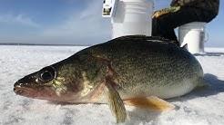 Ice fishing Houghton Lake | Northern Michigan