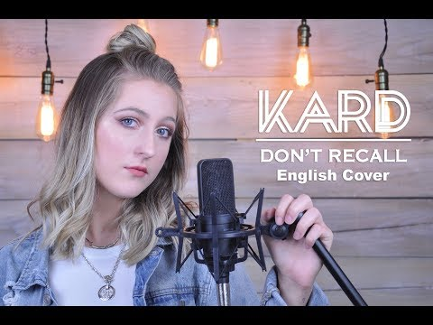 Kard- Don't Recall (English Cover)