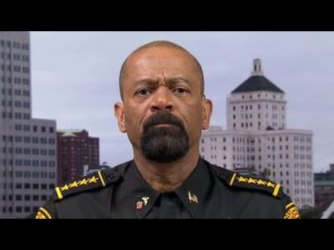 Sheriff Clarke on violent anti-Trump protests