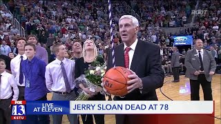 Legendary Jazz Coach Jerry Sloan Dies At 78