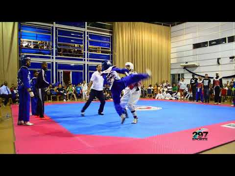 Full fight Aruba vs Suriname Cadet TK3 12-14 aña