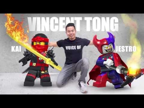 Vincent Tong Answers your Questions - LEGO Ninjago - SDCC Interview
