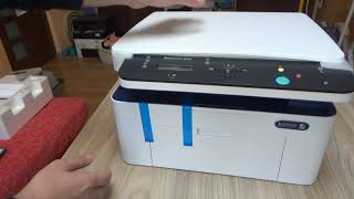 UnBoxing Xerox WorkCentre 3025