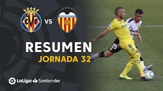 Resumen de Villarreal CF vs Valencia CF (2-0)