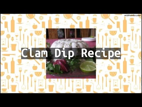 Recipe Clam Dip Recipe