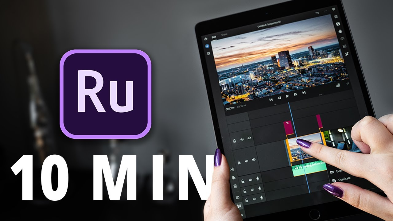 Learn Adobe Rush in 10 MINUTES   ALL YOU NEED TO KNOW! 🤩