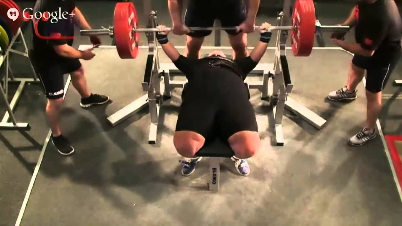 227 kg (500lb) world record bench press – Hildeborg Hugdal