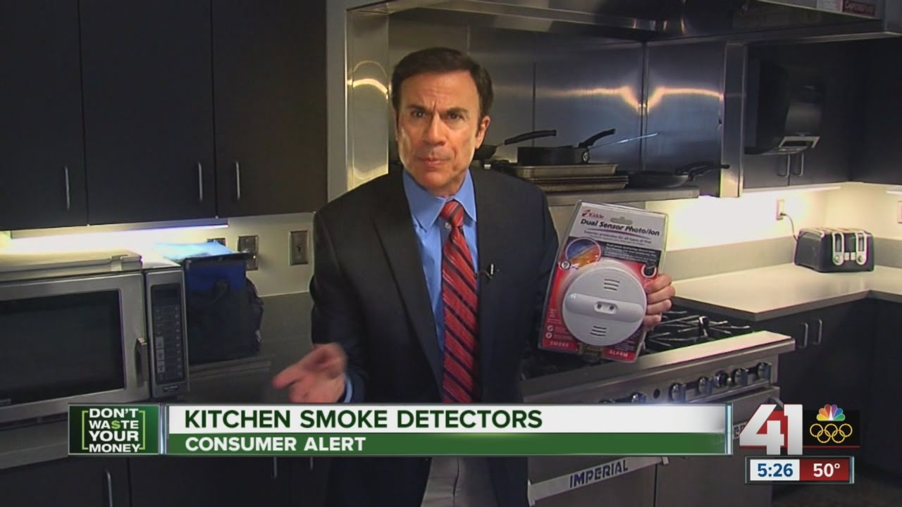 kitchen smoke detector faucet delta don t waste your money buying the right detectors