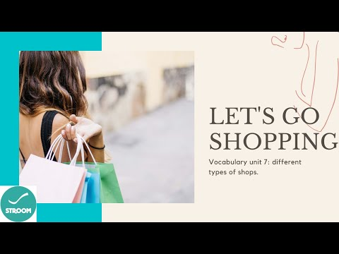 Types of shops (vocabulary)