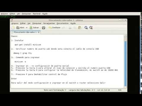 Configurar Minicom en Linux