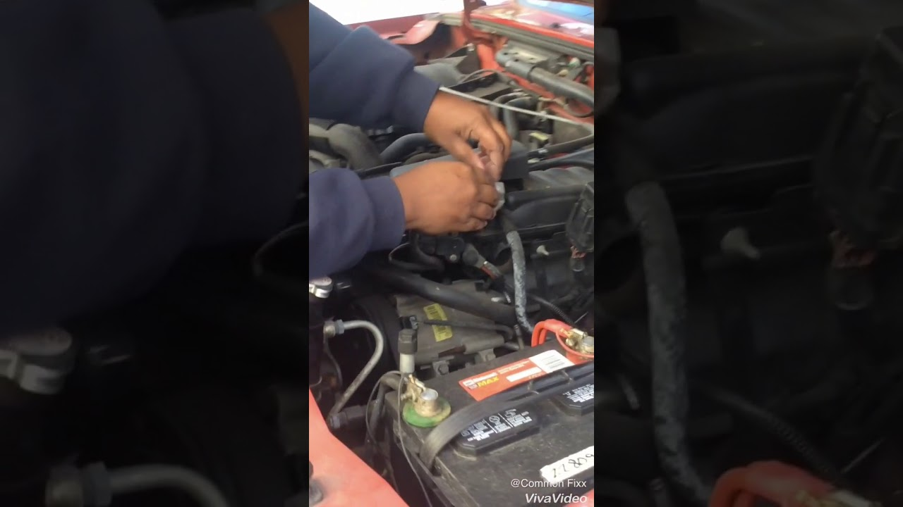 03 Ford Ranger Idle Control Valve Fix Youtube