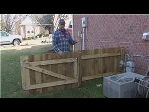 Home Improvement Projects How To Put Up Fence Panels