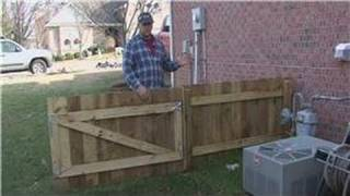 Home Improvement Projects : How To Put Up Fence Panels