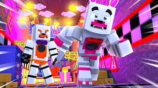 Lolbit Tricks Funtime Foxy Into Thinking Shes The Murderer (Minecraft Fnaf Roleplay Adventure)