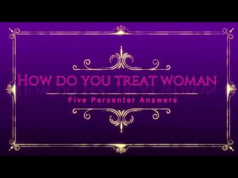 How do Five Percenters treat woman?