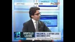 Il settore del lusso non conosce crisi | Sportello Lavoro Puntata 18 Class TV 18-2-2013