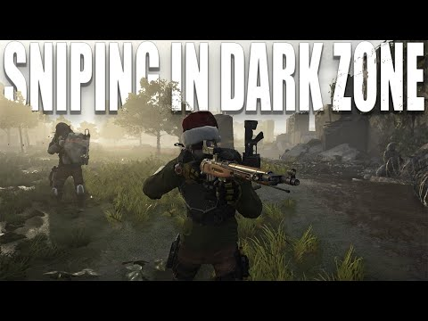 PLAYING SNIPER IN THE DARK ZONE IS FUN | Tom Clancy's The Division 2 |