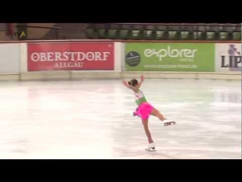 Eisprinzessinnen in Oberstdorf: Bei den Bavarian Open messen sich Profis und Nachwuchs