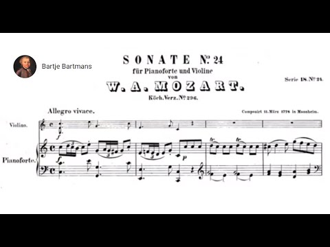 Mozart - Violin Sonata No. 17, C Major K. 296 {Szeryng/Haebler]