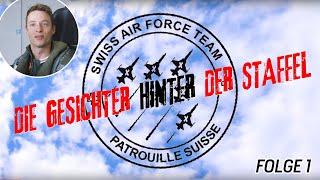 Right Wing Claudius Meier | 55 Jahre Patrouille Suisse | Folge 1