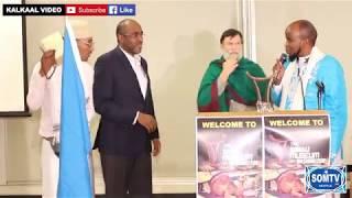 American speaking the Somali Language The Somali Museum of Washington State