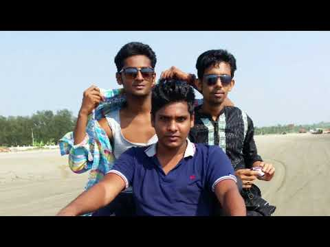 Cox's Bazar excellent moment with my two friend,,and Bangladeshi tourist guide,