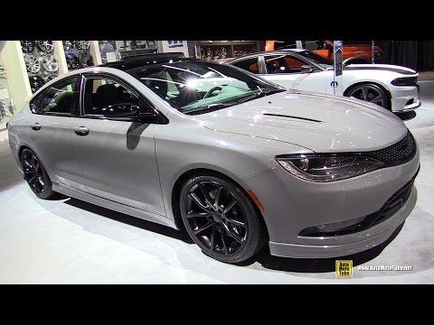 2016 Chrysler 200S Mopar - Exterior and Interior Walkaround - 2016 Detroit Auto Show
